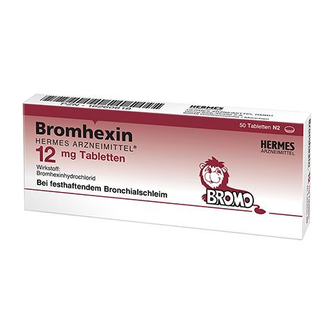Bromhexin Hermes Arzneimittel 12mg 50 Stück N2