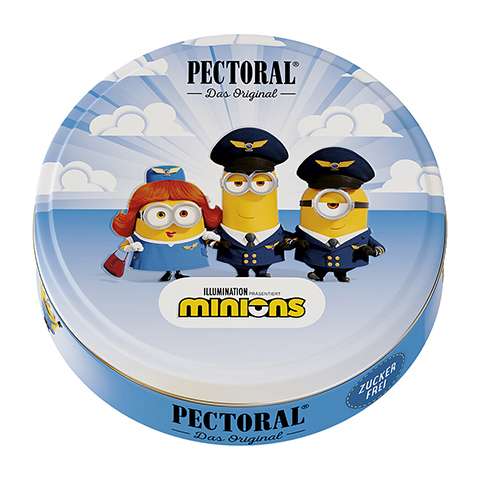 PECTORAL für Kinder Minions Dose Pilotencrew 60 Gramm
