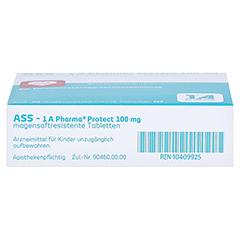 ASS-1A Pharma Protect 100mg 50 Stück N2 - Unterseite