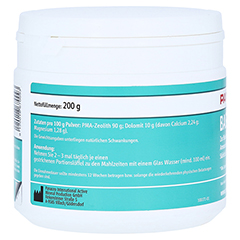 PANACEO Basic-Detox Pulver 200 Gramm - Rückseite