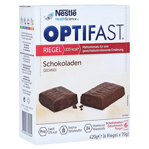 Optifast Riegel Schokolade 6x70 Gramm