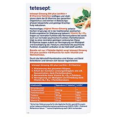 TETESEPT Ginseng 200+Lecithin+B-Vitamine Filmtabl. 30 Stück - Rückseite