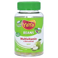 YaYaBeans Apfel Multivitamin + Zink und Jod 90 Stück