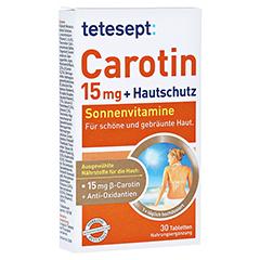 Tetesept Carotin 15 mg + Hautschutz 30 Stück