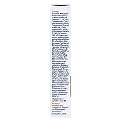 Tetesept Carotin 15 mg + Hautschutz 30 Stück - Linke Seite