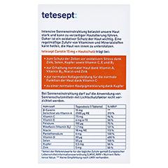 Tetesept Carotin 15 mg + Hautschutz 30 Stück - Rückseite