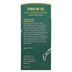 Terrazym Gel 100 Gramm - Rechte Seite