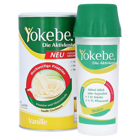 YOKEBE Vanille NF Pulver Starterpack 500 Gramm