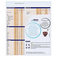 OPTIFAST Creme Schokolade Pulver 8x55 Gramm - Rückseite