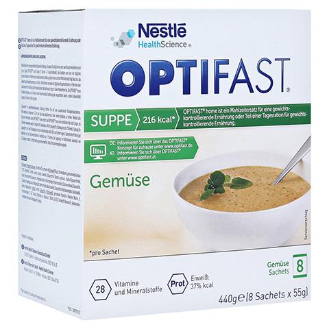 OPTIFAST Suppe Gemüse Pulver 8x55 Gramm