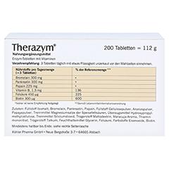 THERAZYM Tabletten 200 Stück - Rückseite