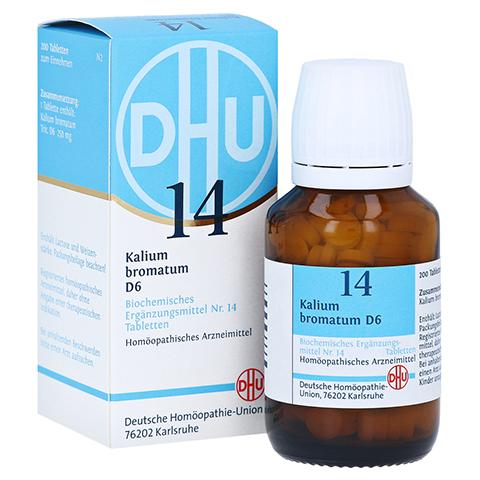 BIOCHEMIE DHU 14 Kalium bromatum D 6 Tabletten 200 Stück N2