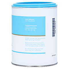 BIOCHEMIE DHU 1 Calcium fluoratum D 12 Tabletten 1000 Stück - Linke Seite