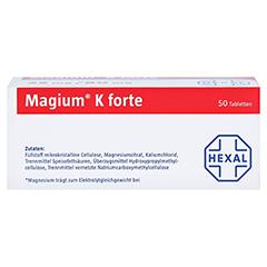 MAGIUM K forte Tabletten 50 Stück - Unterseite