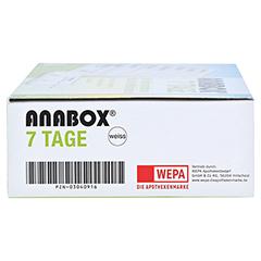 ANABOX 7 Tage Wochendosierer weiß 1 Stück - Rechte Seite