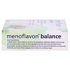 MENOFLAVON Balance Tabletten 30 Stück - Oberseite