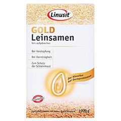 Linusit Gold Leinsamen 1000 Gramm - Vorderseite