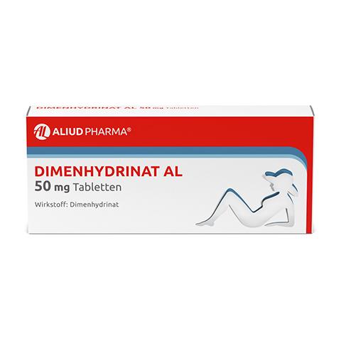 Dimenhydrinat AL 50mg 20 Stück N1
