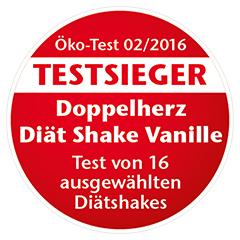 DOPPELHERZ DiätShake Vanille Pulver 500 Gramm - Detailansicht 1