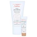 Avène Creme für überempfindliche Haut leicht + gratis Avène Cleanance tinted emulsion 5 ml 50 Milliliter