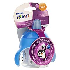 AVENT Sip No Drip Becher 200 ml blau 1 Stück