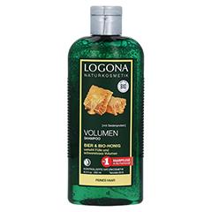 LOGONA Volumen Shampoo Bier & Bio-Honig 250 Milliliter