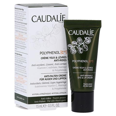 CAUDALIE PC15 Anti-Falten Augen- und Lippencreme 15 Milliliter
