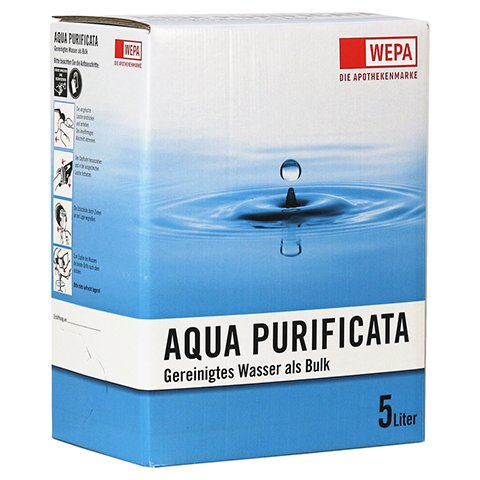 BAG IN A BOX Aqua Purificata 5 Liter