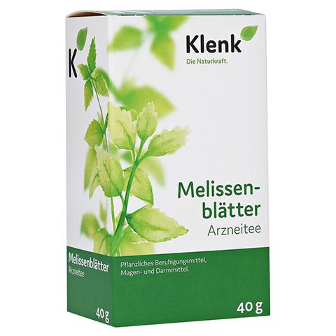 MELISSENBLÄTTER Tee Klenk 40 Gramm