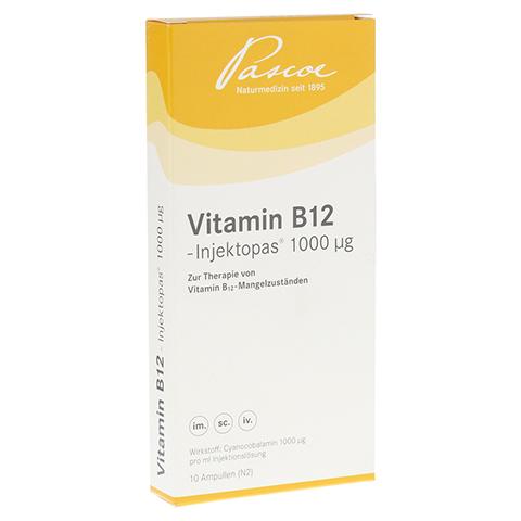 VITAMIN B12 INJEKTOPAS 1.000 µg Inj.-Lösung 10x1 Milliliter N2