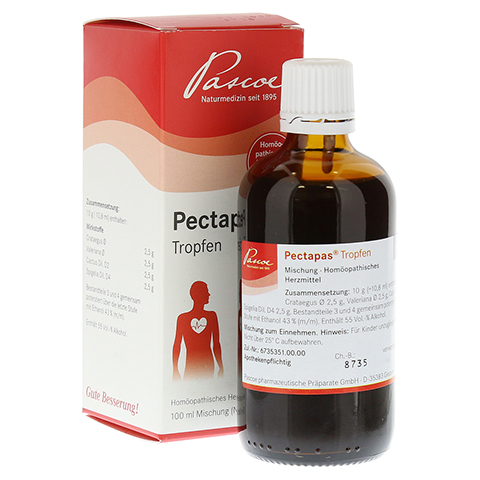 PECTAPAS Tropfen 100 Milliliter N2