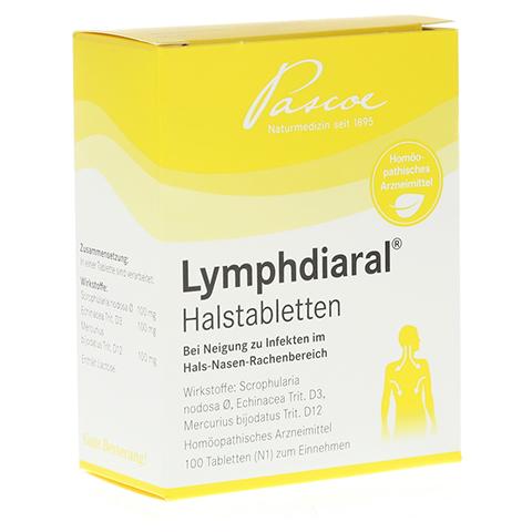 LYMPHDIARAL HALSTABLETTEN 100 Stück N1