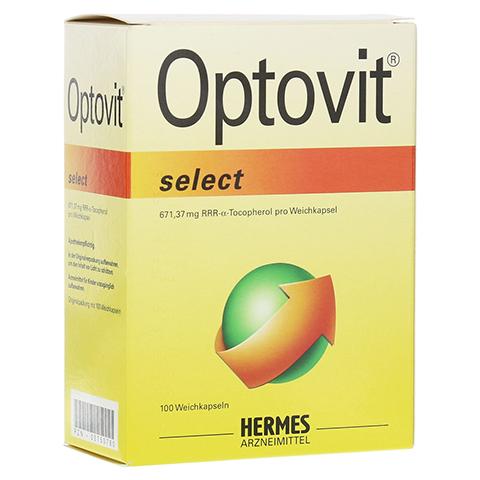 OPTOVIT select 1.000 I.E. Kapseln 100 Stück
