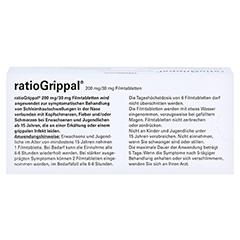 RatioGrippal 200mg/30mg 20 Stück N1 - Rückseite