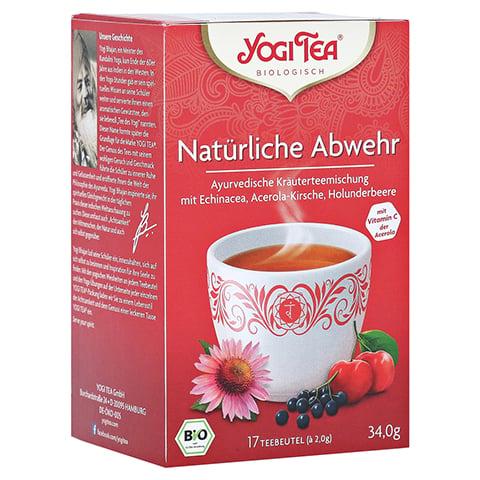 YOGI TEA Natürliche Abwehr Filterbeutel 17x1.8 Gramm