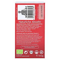 YOGI TEA Natürliche Abwehr Filterbeutel 17x1.8 Gramm - Rückseite