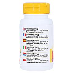 VITAMIN K2 200 µg Tabletten 100 Stück - Rechte Seite