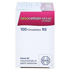 Levocetirizin HEXAL bei Allergien 5mg 100 Stück N3 - Rechte Seite