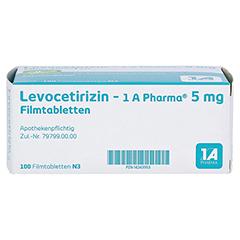 LEVOCETIRIZIN-1A Pharma 5 mg Filmtabletten 100 Stück N3 - Unterseite