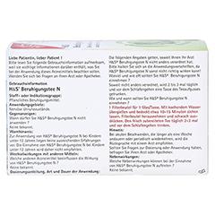 H&S Beruhigungstee N 20x2 Gramm - Rückseite