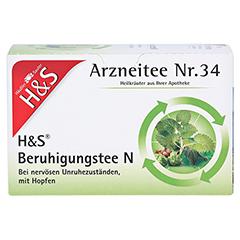 H&S Beruhigungstee N 20x2 Gramm - Vorderseite