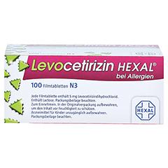 Levocetirizin HEXAL bei Allergien 5mg 100 Stück N3 - Oberseite