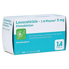 LEVOCETIRIZIN-1A Pharma 5 mg Filmtabletten 100 Stück N3