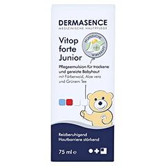 DERMASENCE Vitop forte Junior Creme 75 Milliliter - Vorderseite