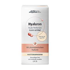 HYALURON NUDE Perfect.Fluid getönt s.hel HT LSF 20 50 Milliliter