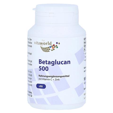 BETA-GLUCAN 500+Vit.C+Zink Kapseln 90 Stück