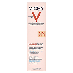 VICHY MINERALBLEND Make-up 03 gypsum 30 Milliliter - Rückseite
