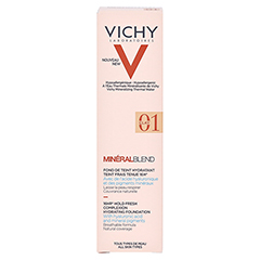 Vichy Mineralblend Make-up Fluid Nr. 01 Clay 30 Milliliter - Rückseite