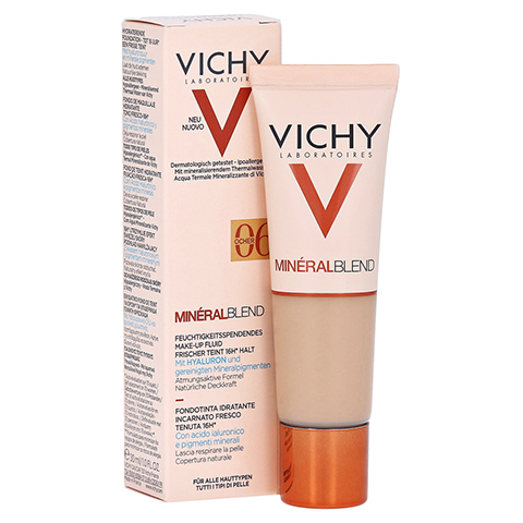Vichy Mineralblend Make-up Fluid Nr. 06 Ocher 30 Milliliter