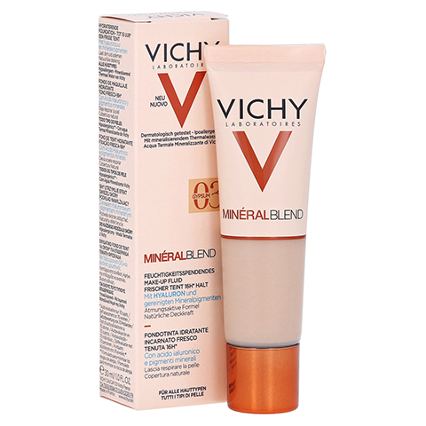 Vichy Mineralblend Make-up Fluid Nr. 03 Gypsum 30 Milliliter